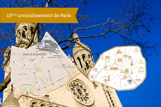 13ème arrondissement de Paris RentParis