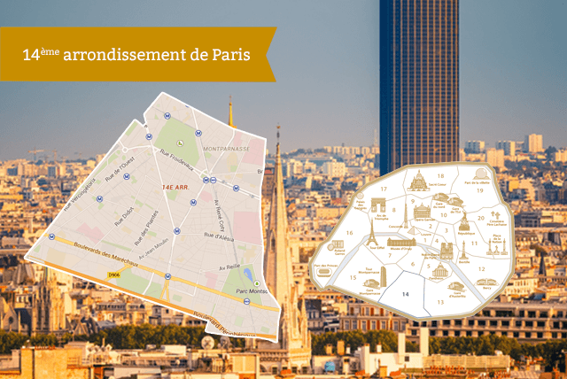 14ème arrondissement de Paris RentParis