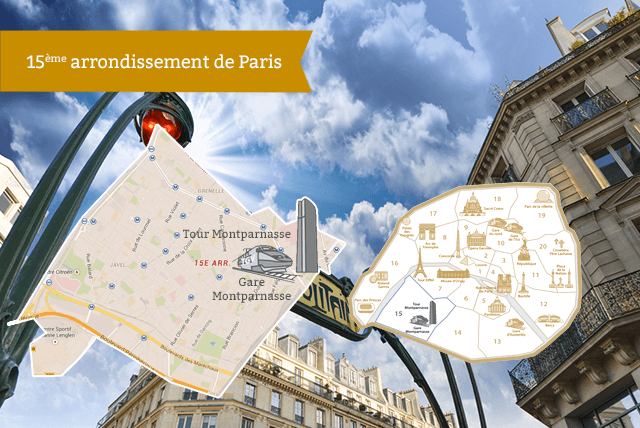 15ème arrondissement de Paris RentParis