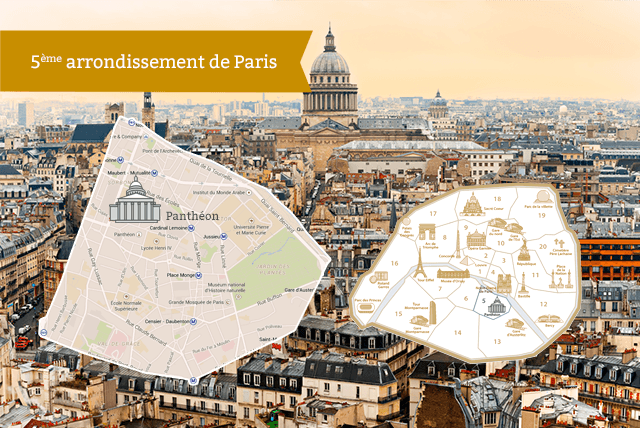 The latin quarter and the 5th arrondissement of paris for Appart hotel 5eme arrondissement paris